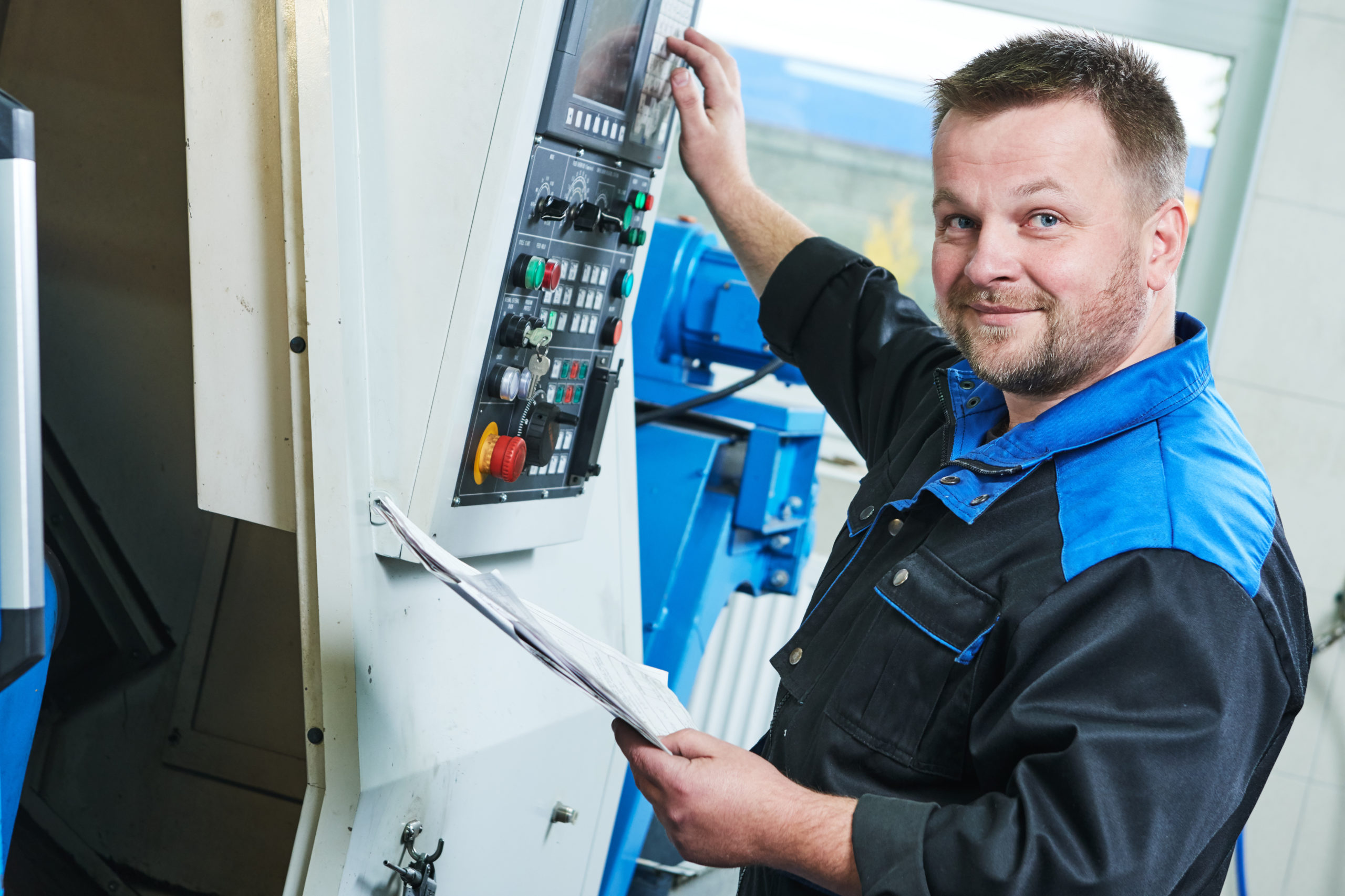 CNC – Maschinenbediener